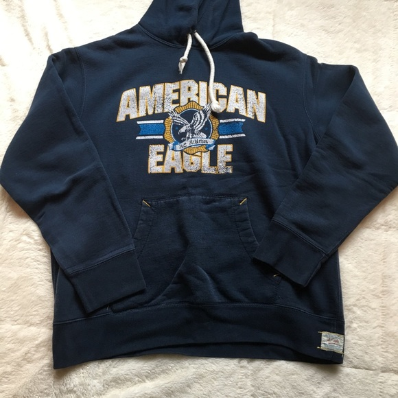 American Eagle Outfitters Hooded Sweatshirt